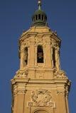 Pilar Basilica Cathedral Church; Saragossa Royalty Free Stock Photo