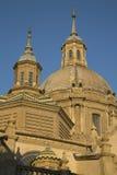 Pilar Basilica Cathedral Church; Saragossa Stock Photography