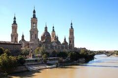 Pilar Basilica Stock Photo