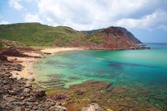 Pilar beach Stock Photos