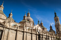Pilar Cathedral, Zaragoza Stock Photo