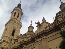 Pilar de Сарагоса Стоковые Изображения RF