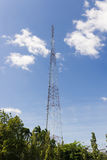Pilar de la antena Foto de archivo libre de regalías