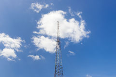 Pilar de la antena Fotografía de archivo libre de regalías