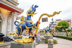 Pilar de la ciudad de Khonkaen, Tailandia fotografía de archivo