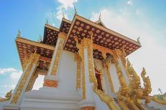 Pilar de la ciudad en Vientián, Laos Foto de archivo libre de regalías
