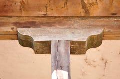 Pilar de madera Fotografía de archivo