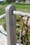 Pilar de madera Imagen de archivo libre de regalías