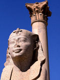 Pilar de Pompey Imágenes de archivo libres de regalías