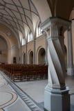 Pilar decorativo en iglesia Fotos de archivo libres de regalías