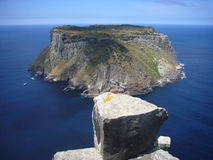 Pilar del cabo de Tasmania de la isla de Tasman Imagen de archivo