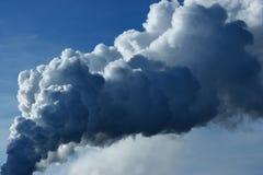 Pilar del humo Foto de archivo libre de regalías