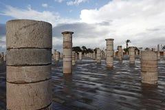 Pilar del mausoleo de Mohammed V. Imágenes de archivo libres de regalías
