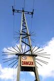 Pilar del poder de Cityl Foto de archivo libre de regalías