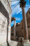 Pilar Diocletian slott Royaltyfria Foton