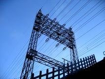 Pilar eléctrico Imagen de archivo libre de regalías