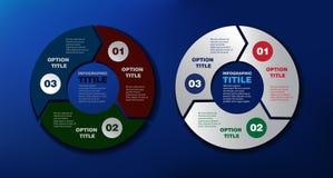 Pilar för infographic Arkivbilder