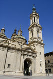 Pilar Gr. Zaragoza, Spanje Royalty-vrije Stock Foto