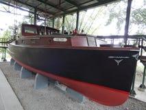 PILAR HEMINGWAY łódź, FINCA VIGIA, KUBA Obrazy Stock