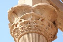 Pilar i Kom Ombo świątynia obrazy stock