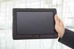pilar kan ta bort tycker om, om den separata lagerbehovsPCen tablet dem dig Arkivbild