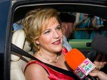 Pilar Rahola, spanish celebrity Stock Photography