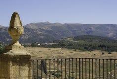 Pilar y paisaje Foto de archivo
