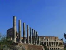 Pilares antiguos Imagen de archivo libre de regalías