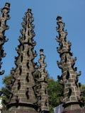 Pilares antiguos del templo Fotos de archivo