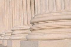 Pilares de la ley y de la información foto de archivo