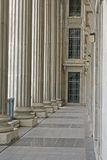 Pilares de la ley y de la orden en el Tribunal Supremo Fotos de archivo