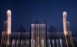 Pilares de la luz imágenes de archivo libres de regalías