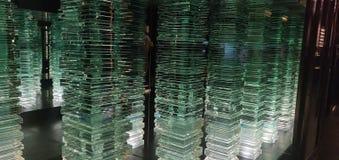 Pilares de la luz imagen de archivo libre de regalías