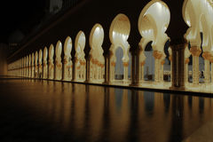 Pilares de oro Fotografía de archivo libre de regalías