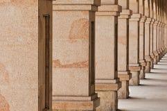 Pilares de piedra fotografía de archivo libre de regalías