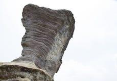 Pilares de piedra naturales Fotos de archivo libres de regalías