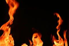 Pilares del fuego Fotos de archivo libres de regalías