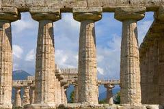 Pilares del templo Imagen de archivo