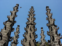 Pilares del templo Foto de archivo libre de regalías