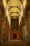 Pilares en iglesia Imágenes de archivo libres de regalías