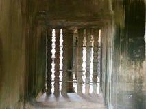 pilares Histórico construido Configuración antigua Angkor Wat Templo hindú camboya foto de archivo