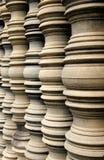 Pilars del tempiale Fotografia Stock