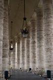 Pilars en vatican Imágenes de archivo libres de regalías