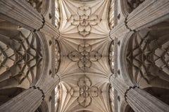 Pilars gotici Fotografia Stock Libera da Diritti