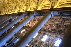 Pilars i det Vatikanstaten hallet Royaltyfri Foto
