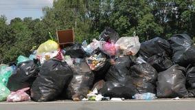 Pilas de basura metrajes