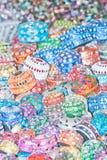 Pilas de cajas Imagen de archivo libre de regalías