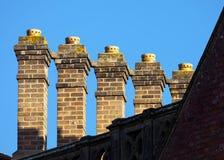 Pilas de chimenea Imagen de archivo libre de regalías