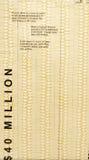 Pilas de efectivo - 40 millones de dólares Foto de archivo