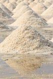 Pilas de la sal Imagen de archivo